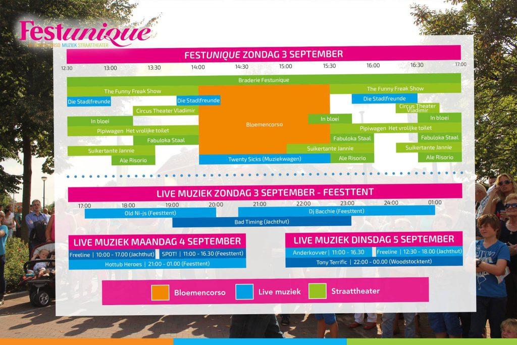 Programma Festunique 2017