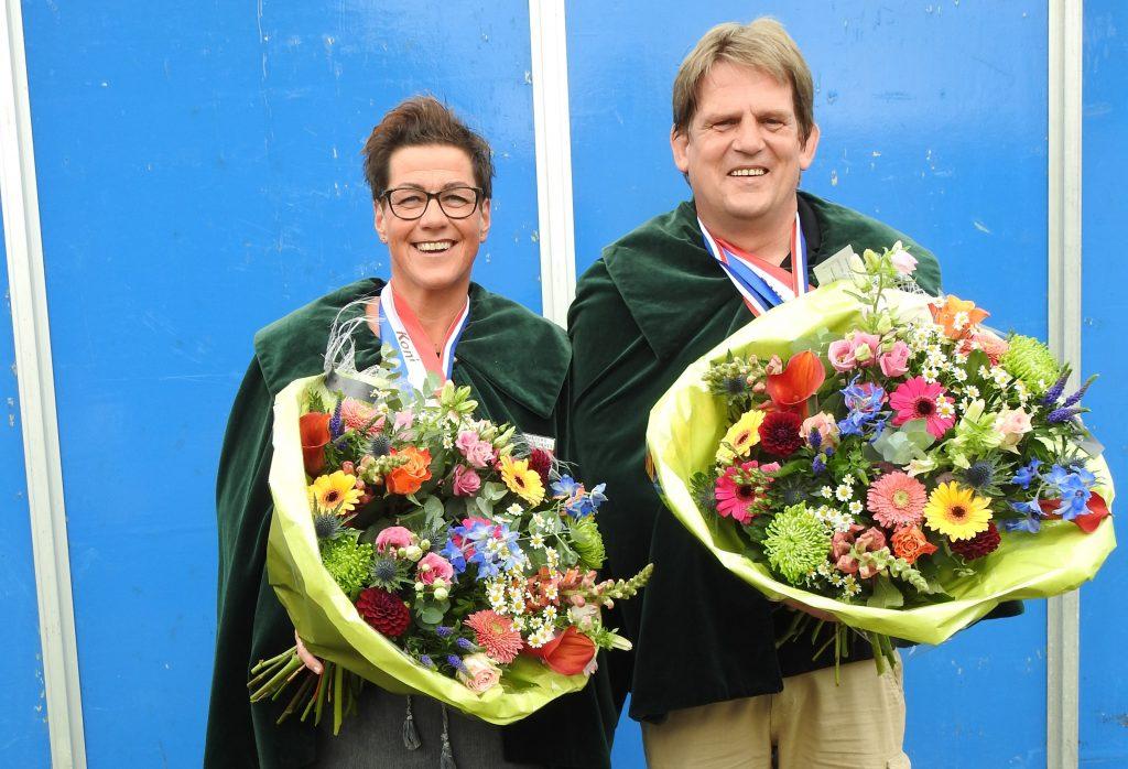 Stef Geverinck en Inge Tuinte schutterskoning en -koningin 2017