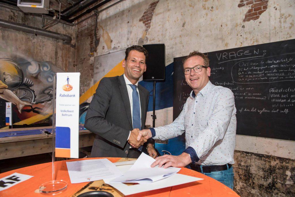 Festunique wint verenigingsondersteuning van de Rabobank